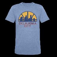 T-Shirts ~ Unisex Tri-Blend T-Shirt ~ OKLAHOMA CITY SONICS