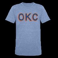T-Shirts ~ Unisex Tri-Blend T-Shirt ~ OKC THUNDER