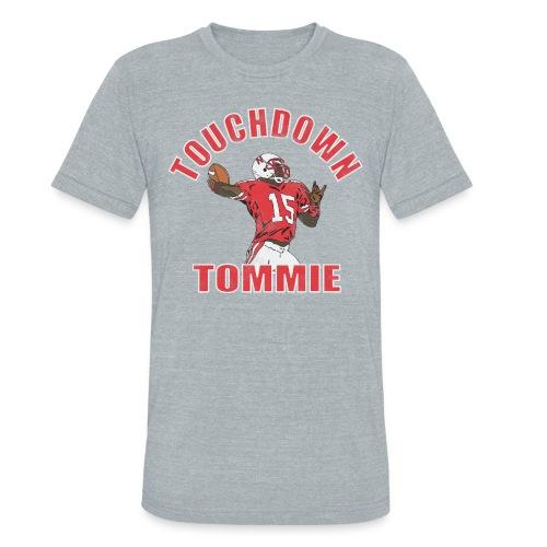 TOUCHDOWN TOMMIE - Unisex Tri-Blend T-Shirt