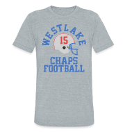 T-Shirts ~ Unisex Tri-Blend T-Shirt by American Apparel ~ D. BREES H.S. THROWBACK