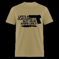 T-Shirts ~ Men's T-Shirt ~ Gun Game Standard