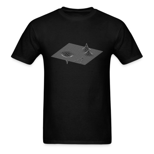 Space Time Ripples - Men's T-Shirt