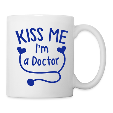 KISS ME I'm a Doctor! with love heart stethoscope Accessories