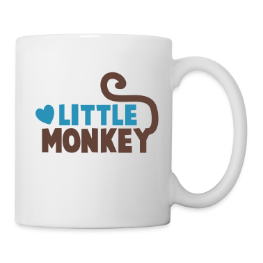 LITTLE monkey perfect for a family design New Apparel