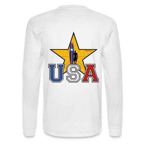 Surf star t-shirt - Men's Long Sleeve T-Shirt