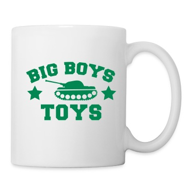 BIG BOYS TOYS with a tank and stars Gift