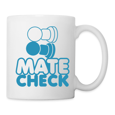 MATE CHECK sexy chess pieces wordplay on checkmate New Apparel