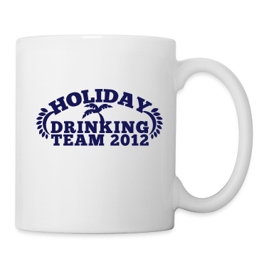 HOLIDAY DRINKING team 2012 with a palm tree great for holiday t-shirt Gift