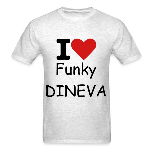 I Love Funky Dineva - Men's T-Shirt