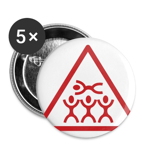 crowd surf pin - Small Buttons