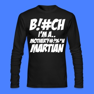 Martians vs. Goblins Long Sleeve Shirts - stayflyclothing.com - Men's Long Sleeve T-Shirt by Next Level