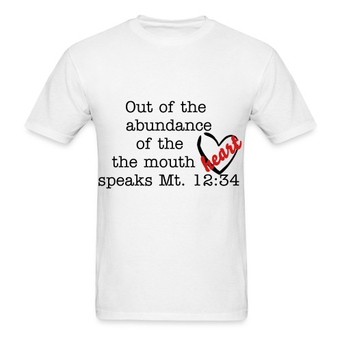 The mouth speaks - Men's T-Shirt