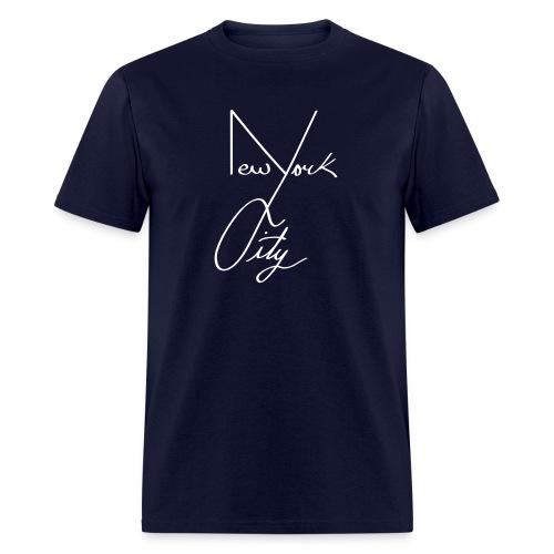 NYC Shirt Black  - Men's T-Shirt
