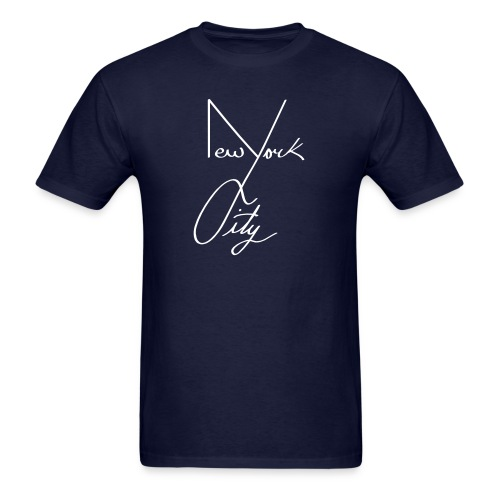NYC Shirt Black  - Men's T-Shirt