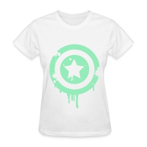 Star Target (Green) - Women's T-Shirt