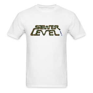 Sewer Level White - Men's T-Shirt