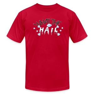 What the Hail?! - Men's American Apparel - Men's T-Shirt by American Apparel