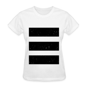 Stars and Stripes (White) - Women's T-Shirt