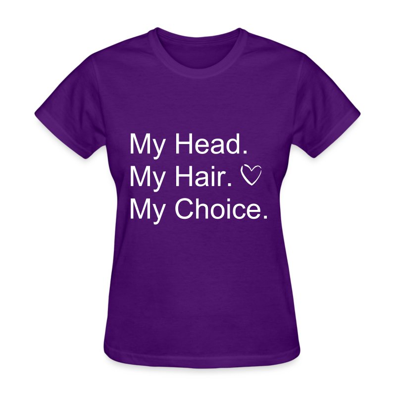 I Love My hair! - Women's T-Shirt