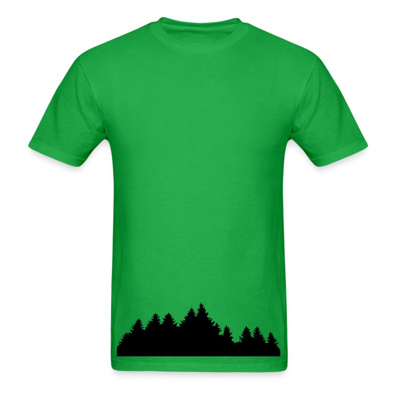 Wood forest nature t shirt spreadshirt for Rainforest t shirt fundraiser