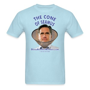 Official Dogs Against Romney Cone of Seamus Men's T-Shirt - Light - Men's T-Shirt