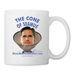 Official Dogs Against Romney Cone of Seamus Mug - Coffee/Tea Mug