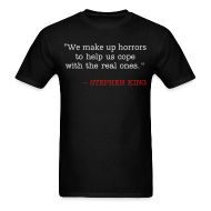 T-Shirts ~ Men's T-Shirt ~ We Make Up Horrors