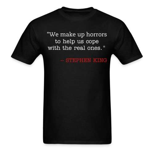 We Make Up Horrors - Men's T-Shirt