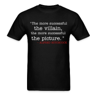 T-Shirts ~ Men's T-Shirt ~ More Successful Villain
