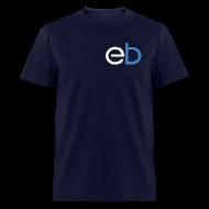 T-Shirts ~ Men's T-Shirt ~ EB Classic Shirt: Navy