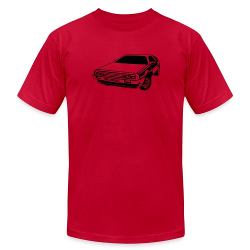 Delorean - Men's Fine Jersey T-Shirt