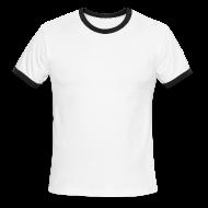T-Shirts ~ Men's Ringer T-Shirt ~ Men's Single Color Single-Sided Ringer Tee