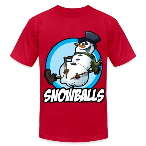Snow Balls - Men's  Jersey T-Shirt