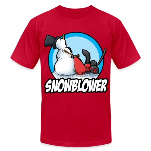 Snow Balls Blower - Men's  Jersey T-Shirt