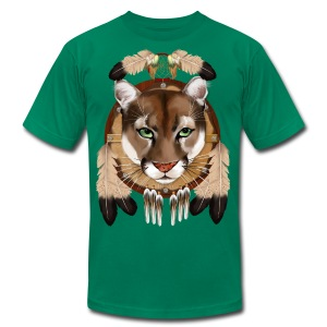 Cougar Shield - Men's T-Shirt by American Apparel