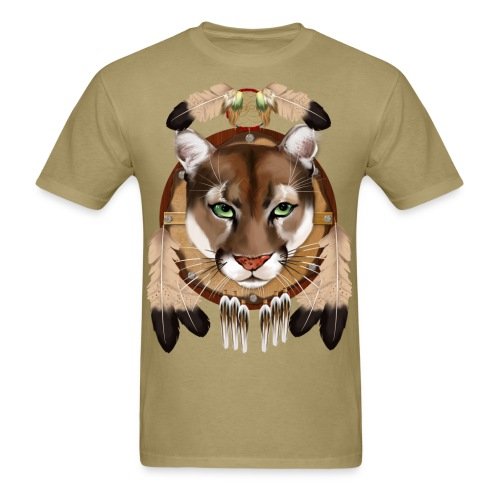 Cougar Shield - Men's T-Shirt