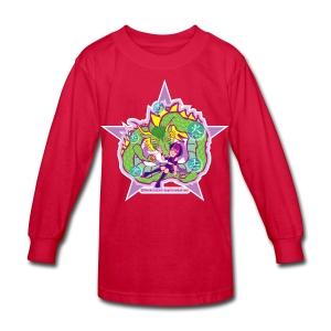 Universal Dragon - Kids' Long Sleeve T-Shirt