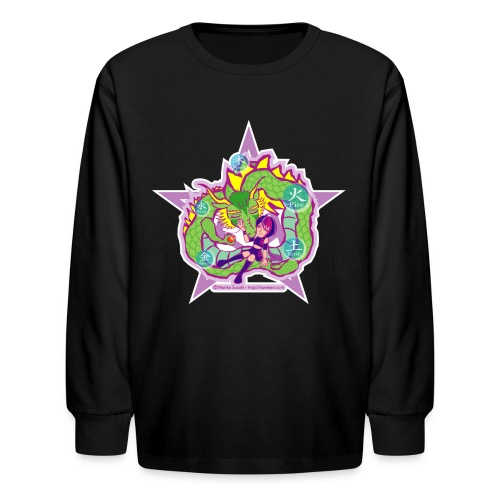 Universal Dragon - Kids' Long Sleeve T-Shirt