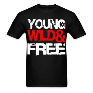 Young Wild & Free - Men's T-Shirt