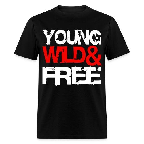 Young Wild & Free - Men's T-Shirt