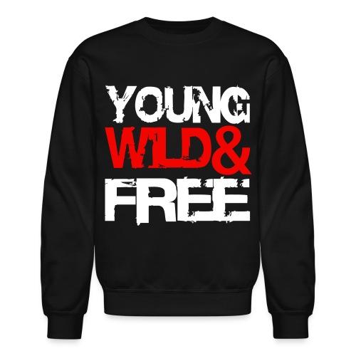Young Wild & Free - Crewneck Sweatshirt