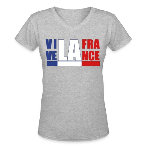 VIVE LA FRANCE - Women's V-Neck T-Shirt