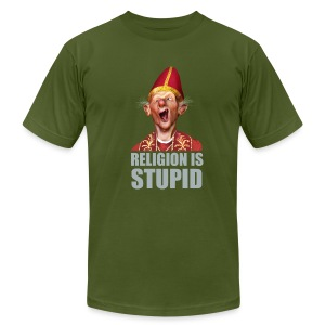 Religion is stupid - Men's T-Shirt by American Apparel