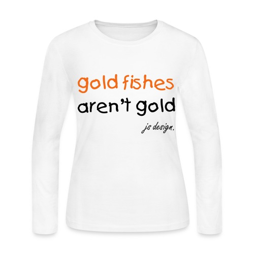 goldfishes. - Women's Long Sleeve Jersey T-Shirt