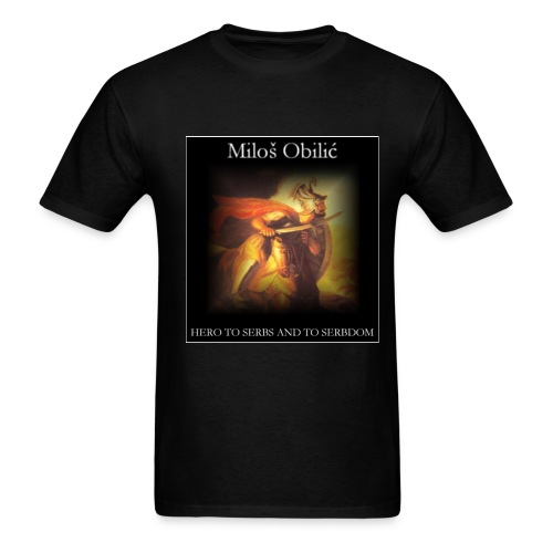 Milos Obilic - Men's T-Shirt