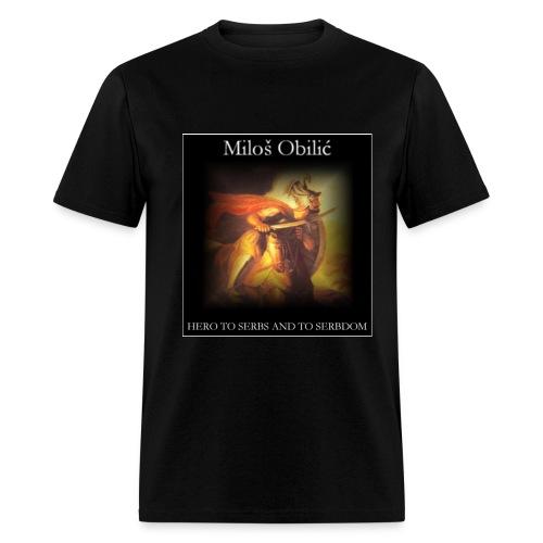 Milos Obilic - Men's T-Shirt