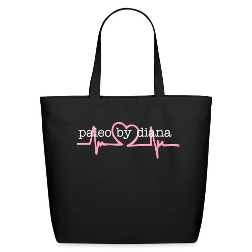Pink Heartbeat Collection Tote - Eco-Friendly Cotton Tote