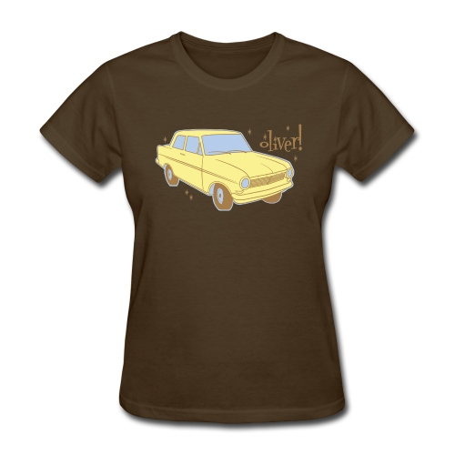 Oliver the Opel Kadett (W) - Women's T-Shirt
