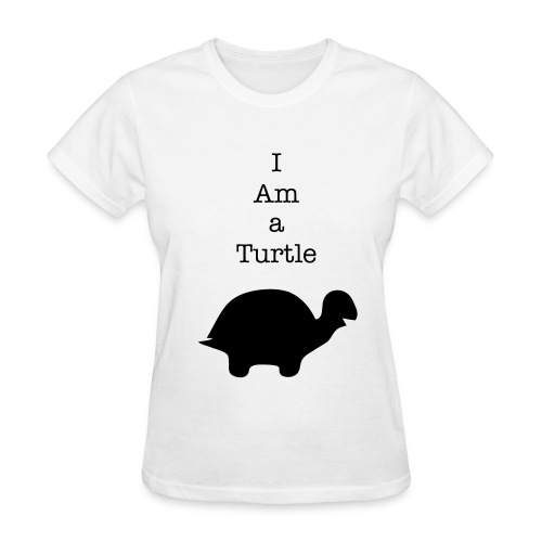 Become a Turtle! - Women's T-Shirt