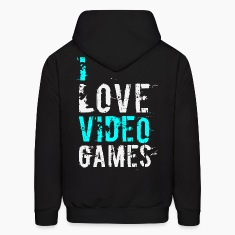i love video games v1 Hoodies